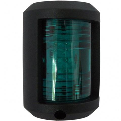 Svetlo pozičné, zelené, LED 112,5°,59x42x34mm