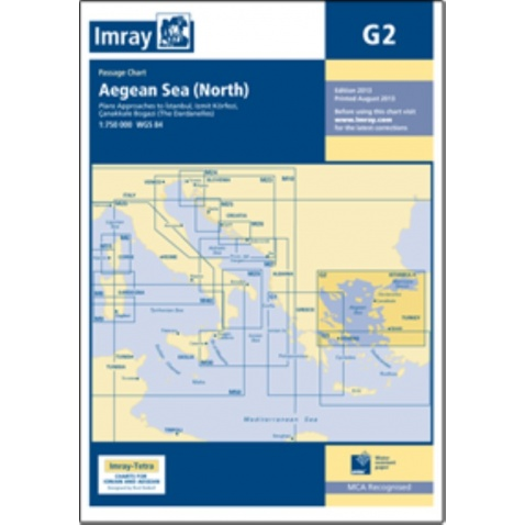 Mapa Northern Aegean