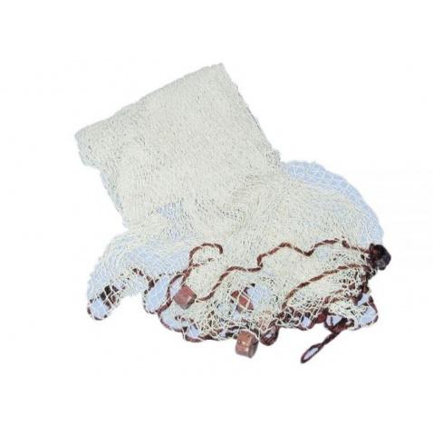 Sieť dekoračná - farba: biela, 250x250cm