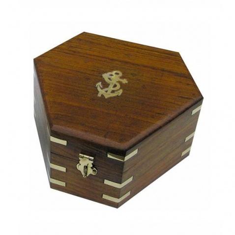 Krabica na sextant - 17,5x15,5x8,5 cm