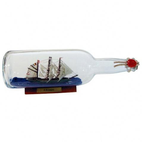 Model lode vo fľaši - plachetnica RICKMER RICKMERS