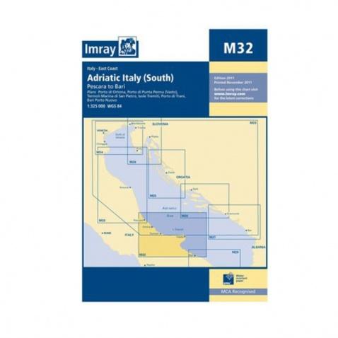 Mapa M32 Adriatic Italy (South)