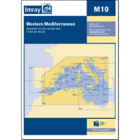 Mapa M10 Western Mediterranean