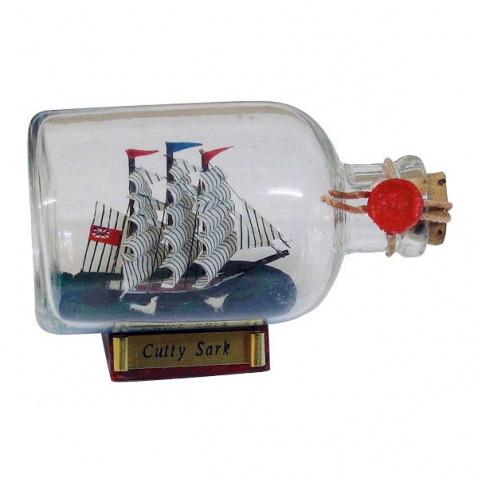 Model lode vo fľaši – plachetnica CUTTY SARK