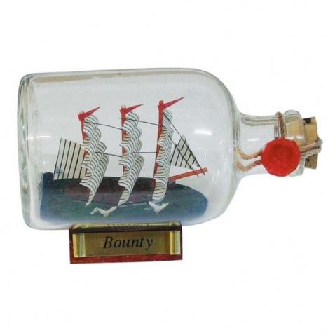 Model lodi vo flaši - Bounty d.9cm