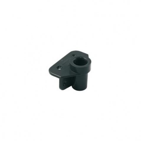 Držiak havleniek PVC,šedý,pr.19mm,v. 46mm