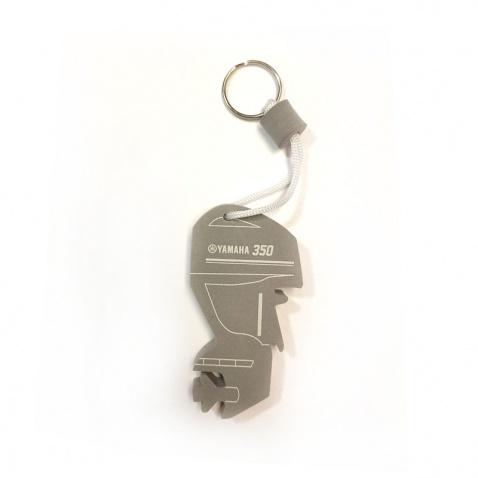 Privesok na klúče Yamaha motor šedý