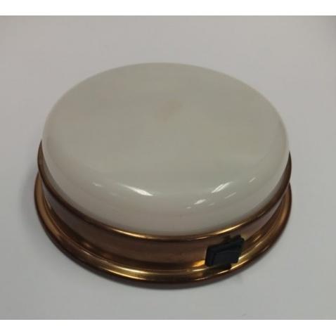 Svetlo kajutové aquasignal - stropné, zlaté 16,5cm