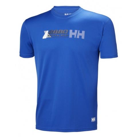 Tričko Helly Hansen kr.r. HP Clean ocean olympi