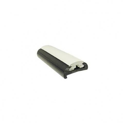 Oděrový profil spodní,  PVC 1472R bílý, 365cm