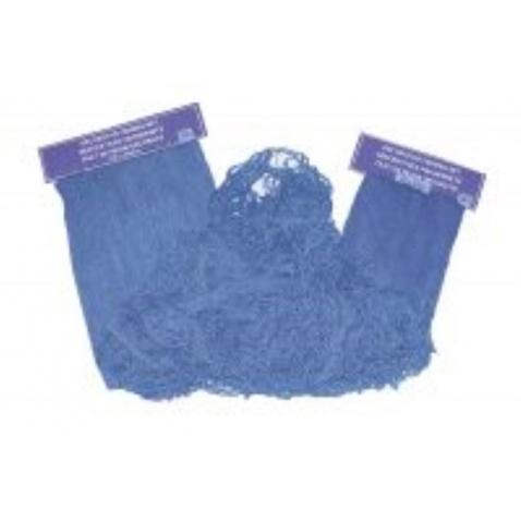 Sieť dekoratívna modrá 200x400