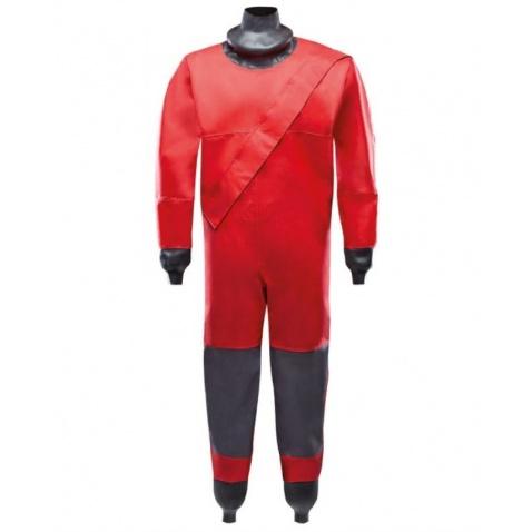 Suchý oblek detský red/dark grey