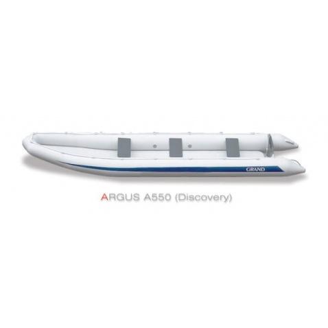Nafukovacie kanoe Grand A550 Discovery - šedé
