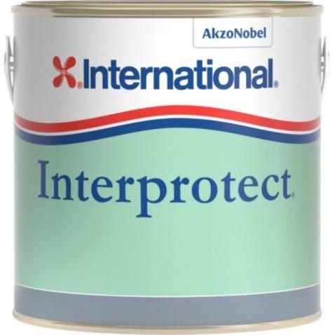 Farba základná  INTERPROTECT - biela, 0,750l