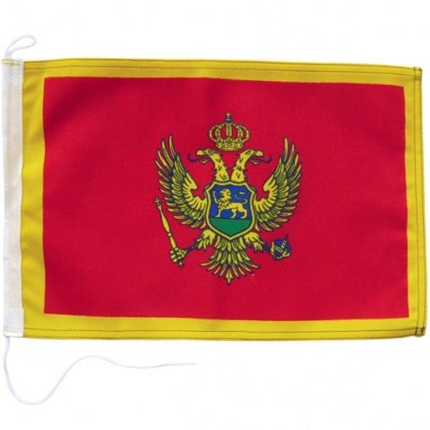 Vlajka Čierna Hora 20x30cm