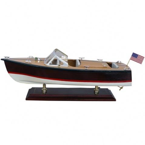 Model lode - motorový čln 35x13,5cm