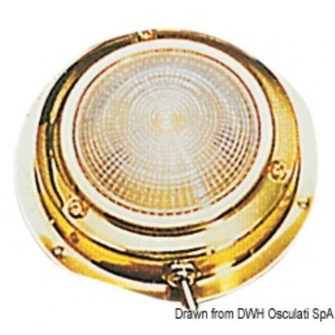 Svetlo kajutové zlaté 14cm