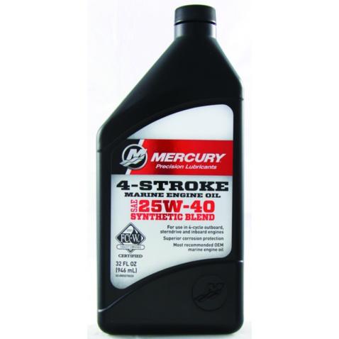 Olej 4T, 25W-40, syntetický, 4l