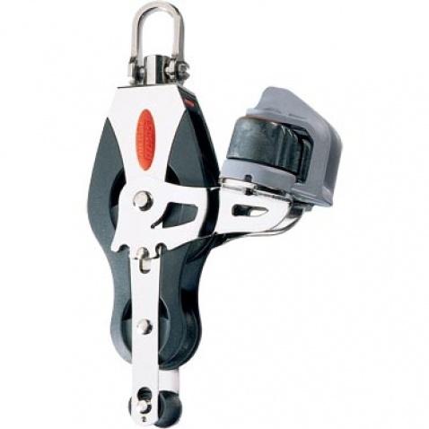 Dvojkladka -  RF40530 Fiddle block, becket, adjustable cleat, universal head