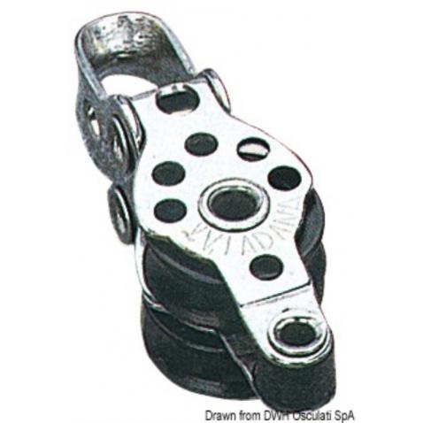 Dvojkladka Micro s úvazom, priem. lana 5mm