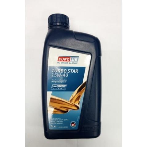 Olej 4T, 15W-40 Turbo star, 1ltr.
