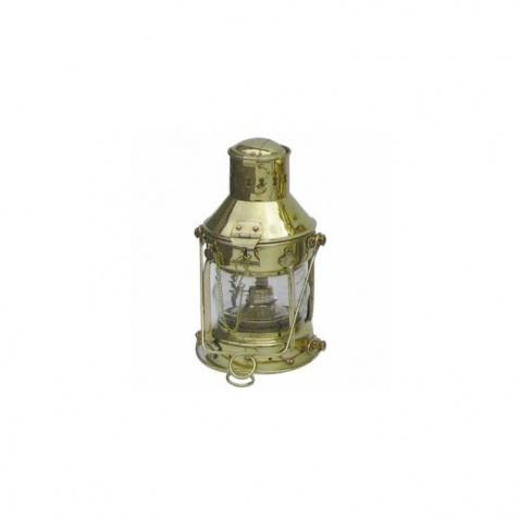 Lampa vrcholová mosadz,v.24cm, 360°