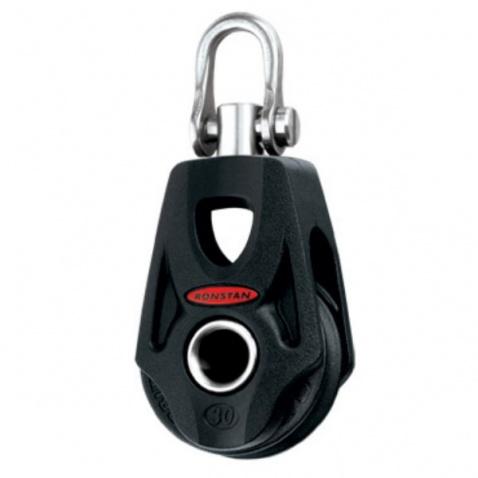 Kladka s obrtlíkom - RF35100 Single block, swivel shackle head