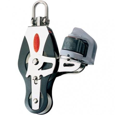 Dvojkladka RF41520 Fiddle block, adjustable cleat, universal head