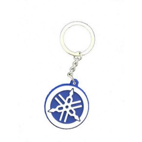 Přívěšek na klíče Yamaha logo modrý