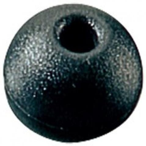 Gulička, čierna – priem. 25 mm, max. lano 5 mm - RF1316BLK
