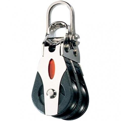 Dvojkladka s obrtlíkom – RF20202 Double block, 2-axis shackle head
