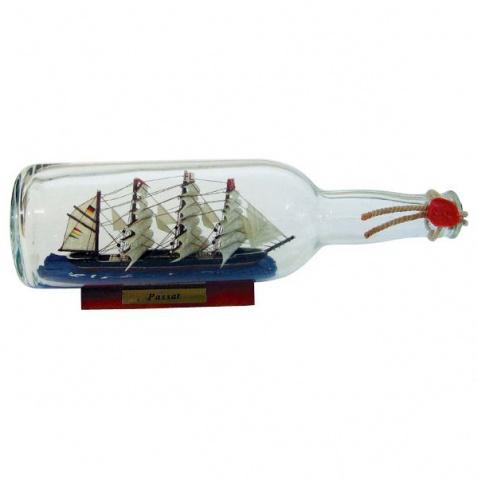 Model lode vo fľaši - plachetnica PASSAT