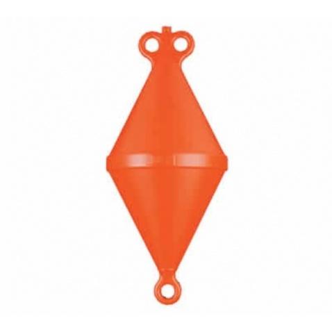 Bója kotevná, kužel, dĺžka 80 cm,výtlak 15kg,  oranžová