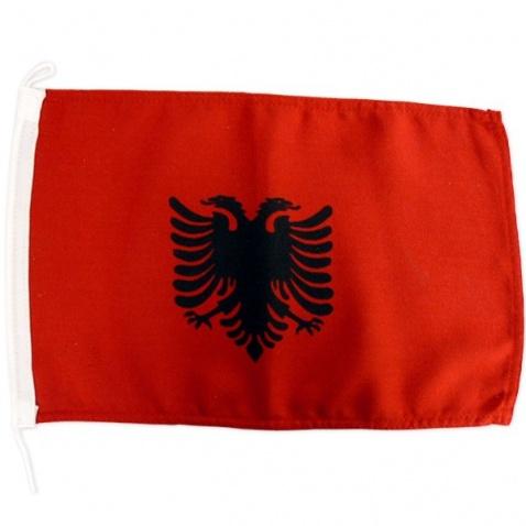 Vlajka Albánsko 20x30cm