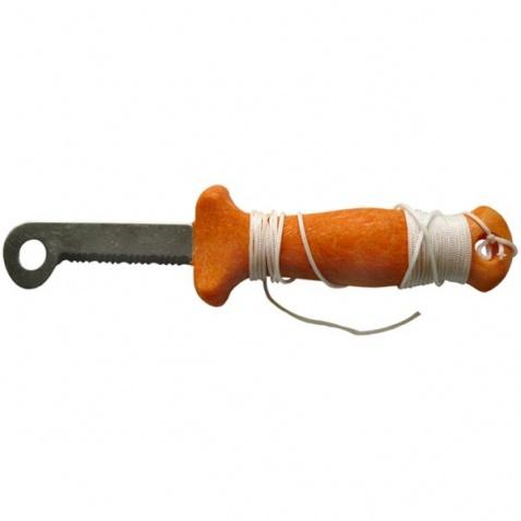 Nôž nesklápací, oranžový