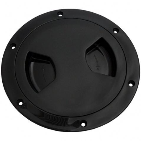 Inšpekčné veko - 113/145 mm čierné