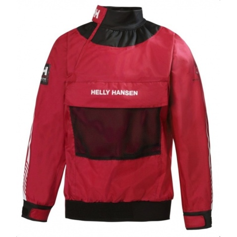 Spray top Helly Hansen - JR dinghy Smock Top red JR12