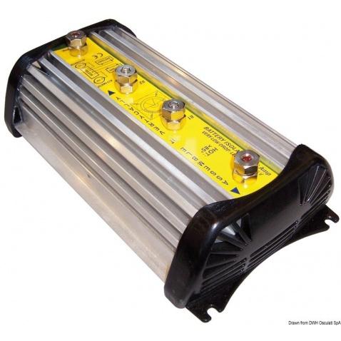 Izolátor bateriový 2x50Amp