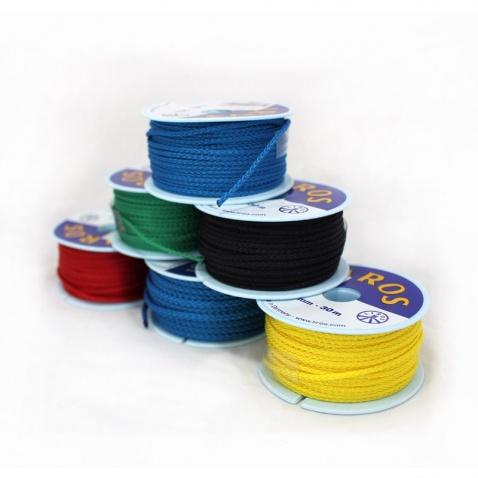 Braided Polyester Line,pr.3mm blue (špulka 15m)