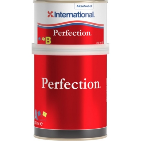 Farba vrchná  PERFECTION - biela 001, 0,750l