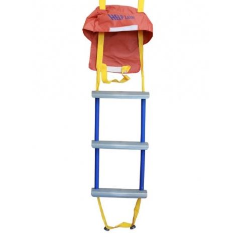 Rebrík povrazový - záchranný, trojstupňový