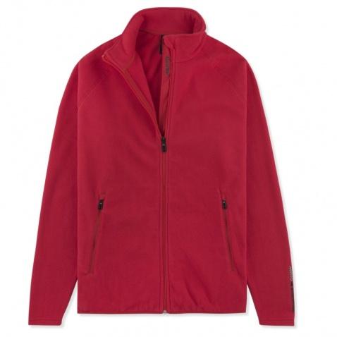 Bunda Musto Crew XVR fleece true red