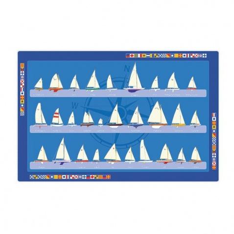 Prestieranie PVC-vzor plachetnice