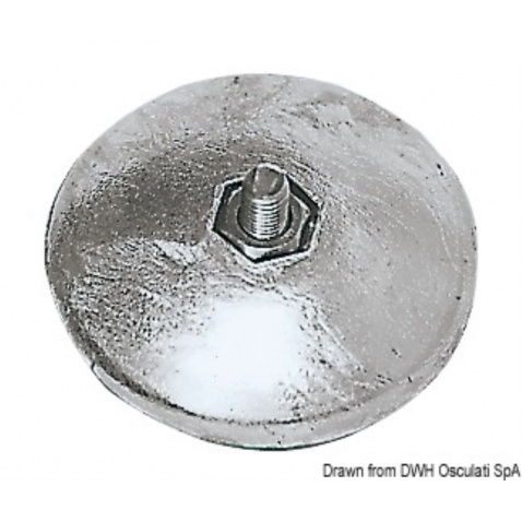 Anóda zinková pro kormidlo,  pr. 50mm