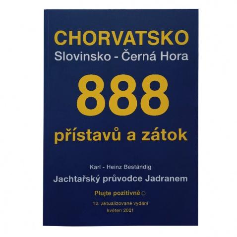 Kniha – 888 přístavů, zátok a kotvišť
