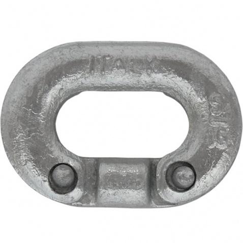 Spojka reťaze, pozink, 10 mm