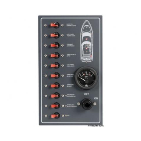 Vodotesný elektrický panel
