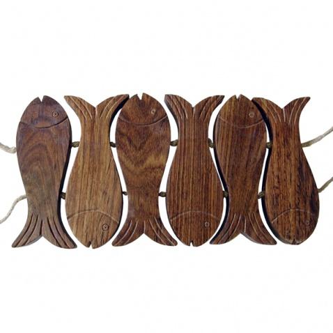 Podložka pod hrniec - rybičky