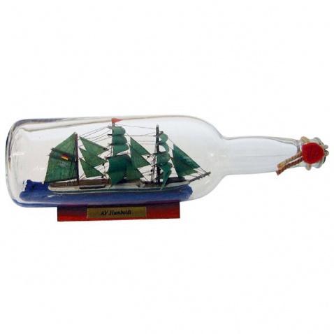 Model lode vo fľaši - plachetnica ALEXANDER VON HUMBOLDT