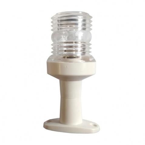 Svetlo pozičné , kormové biele 360°, d.12cm